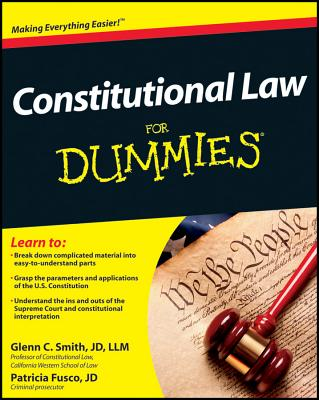 Constitutional Law for Dummies By Smith, Glenn/ Fusco, Patricia